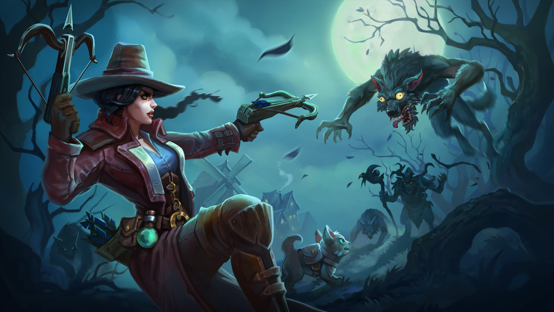 Minion Masters UPDATE - Rise of the Howling Moon